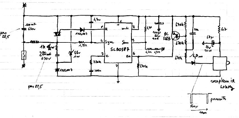 Schema Elettrico Per Una Lampadina : Schema elettrico per dimmer v
